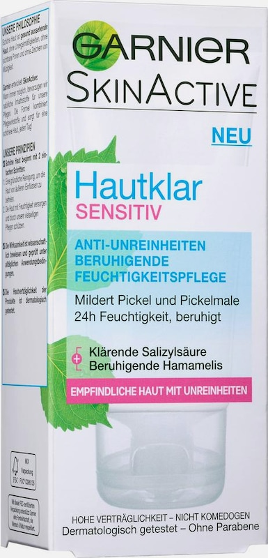 GARNIER 'Hautklar Sensitiv Pflegecreme', Gesichtspflege