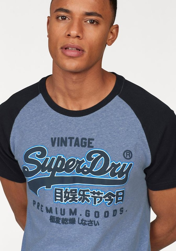 Superdry T-Shirt 'Premium Goods'
