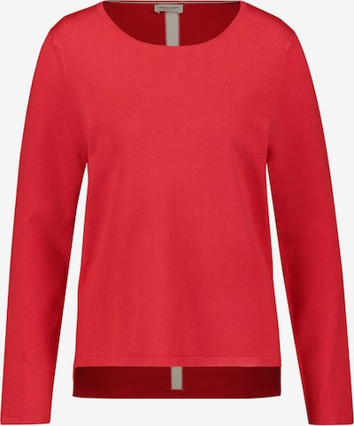 GERRY WEBER Pullover in rot / weiß, Produktansicht