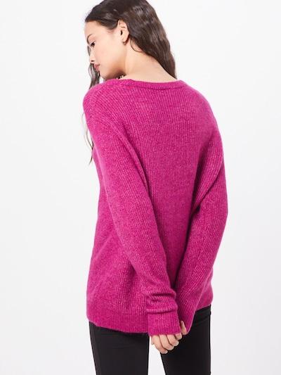 Megztinis iš OBJECT , spalva - rožinė: Vaizdas iš galinės pusės