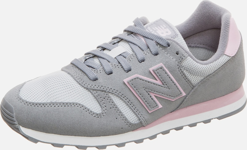 new balance Sneaker 'WL373' in grau / rosa: Frontalansicht