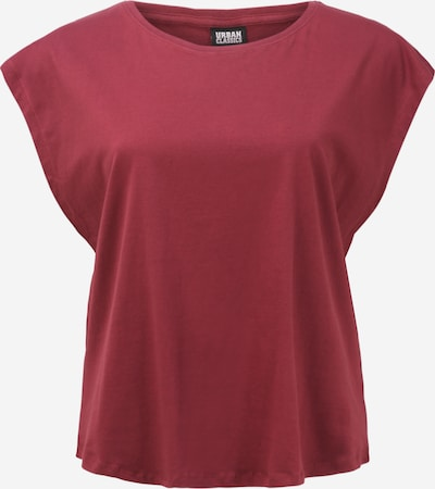 Urban Classics Curvy Shirt 'Basic Shaped Tee' in Cherry red, Item view
