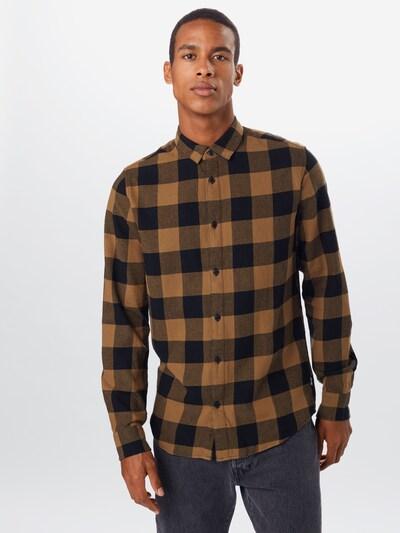 Only & Sons Krekls 'GUDMUND' pieejami bēšs / melns: Priekšējais skats