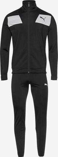 PUMA Trainingsanzug »Techstripe Tricot Suit OP« in schwarz, Produktansicht
