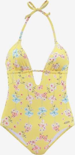SUNSEEKER Badeanzug 'Ditsy' in gelb / mischfarben, Produktansicht