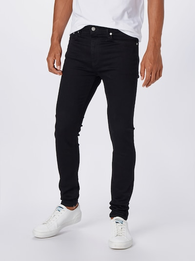 Calvin Klein Jeans Hose in schwarz, Modelansicht