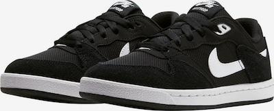 Nike Sportswear Baskets en noir / blanc, Vue avec produit