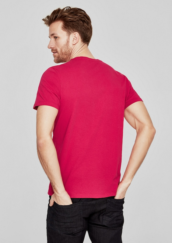 s.Oliver RED LABEL T-Shirt mit Wording-Print