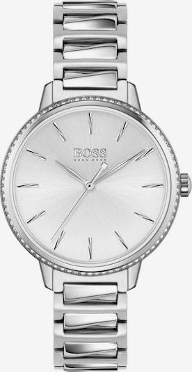 BOSS Uhr 'Signature' in silber / weiß, Produktansicht