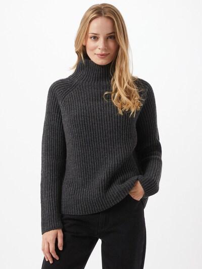 DRYKORN Pullover 'Arwen' in dunkelgrau, Modelansicht