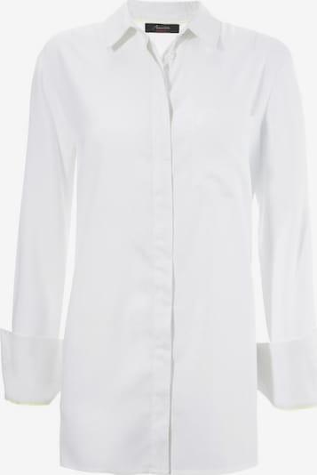 Aniston CASUAL Bluse in schwarz / weiß, Produktansicht