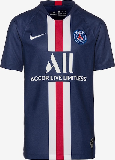 NIKE Fußballtrikot 'Paris Saint-Germain 19/20 Heim' in navy, Produktansicht