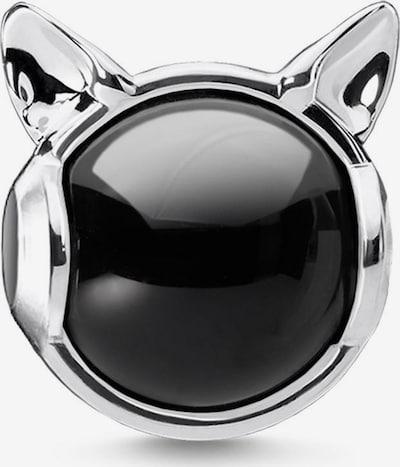 Thomas Sabo Anhänger 'Katzenohren' in schwarz / silber, Produktansicht