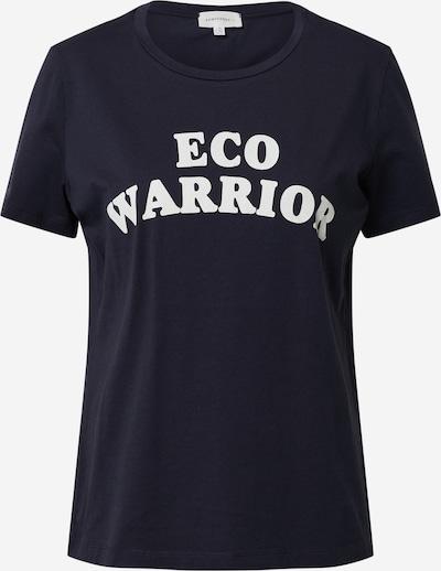 sötétkék / fehér ARMEDANGELS Póló 'MARAA ECO WARRIOR', Termék nézet