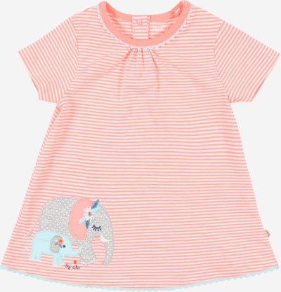 STACCATO Shirt in de kleur Opaal / Zalm roze / Wit, Productweergave