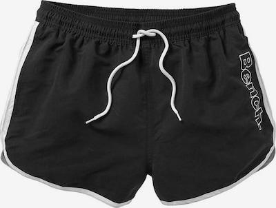 BENCH Badeshorts in schwarz, Produktansicht