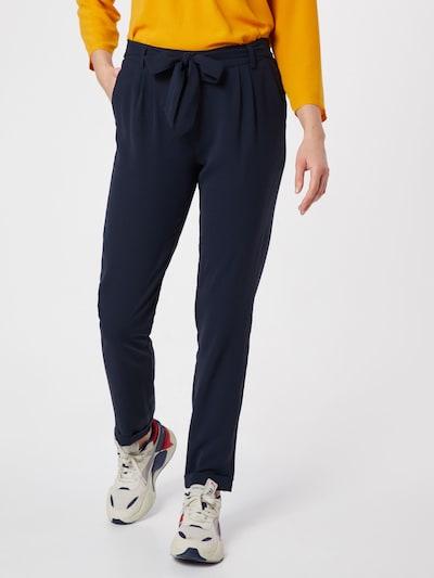 ICHI Pantalon chino en bleu marine, Vue avec modèle