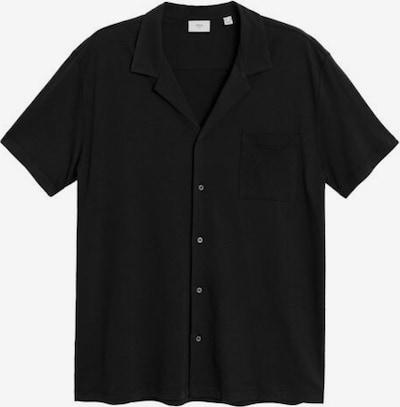 MANGO MAN Hemd 'bonheur6' in schwarz, Produktansicht
