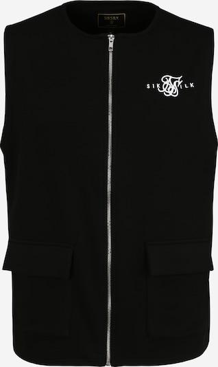 SikSilk Brezrokavnik | črna barva, Prikaz izdelka
