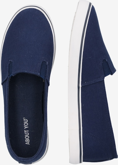 ABOUT YOU Sneaker 'Anni Shoe' in navy: Seitenansicht