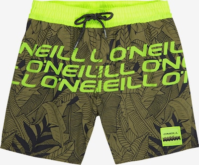 O'NEILL Badehose 'PB STACKED SHORTS' in grün, Produktansicht