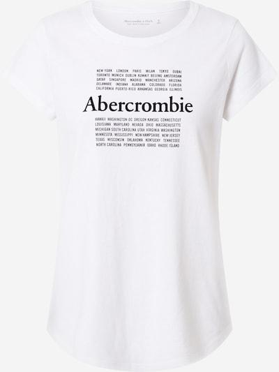 fekete / fehér Abercrombie & Fitch Póló, Termék nézet
