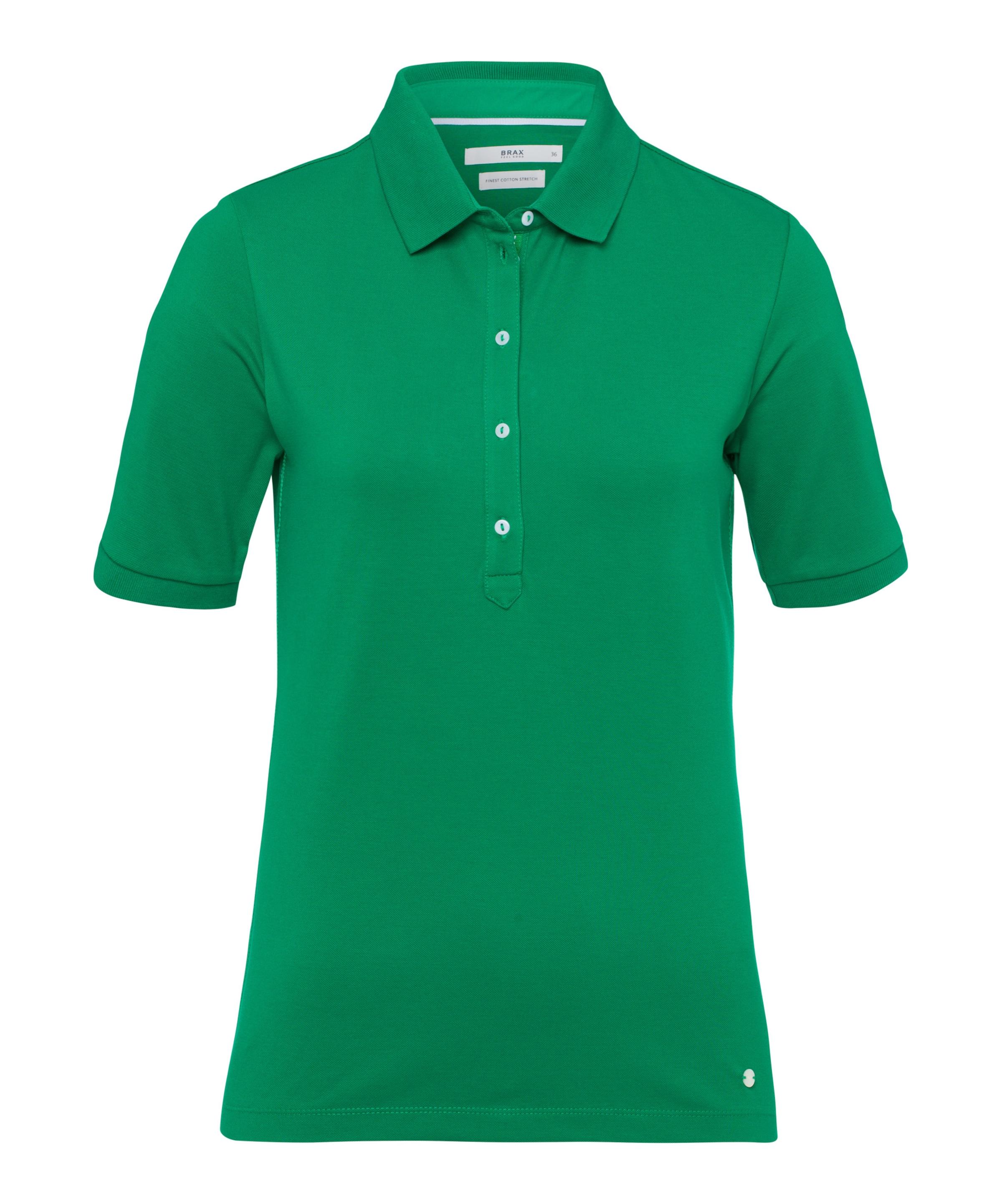 'cleo' Poloshirt Grün In Brax kZuPXOi