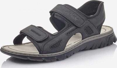 RIEKER Sandalen in anthrazit, Produktansicht
