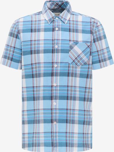MUSTANG Hemd ' Collin Basic Check ' in blau, Produktansicht