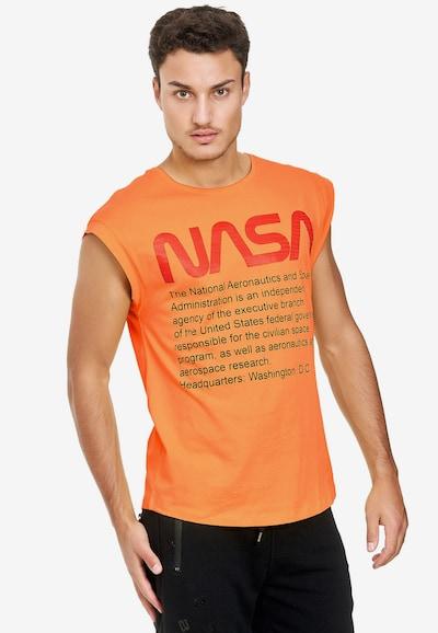 Redbridge Shirt 'Washington NASA' in de kleur Sinaasappel: Vooraanzicht
