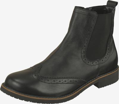 Lui by tessamino Chelsea boots 'Filippo' in de kleur Zwart, Productweergave