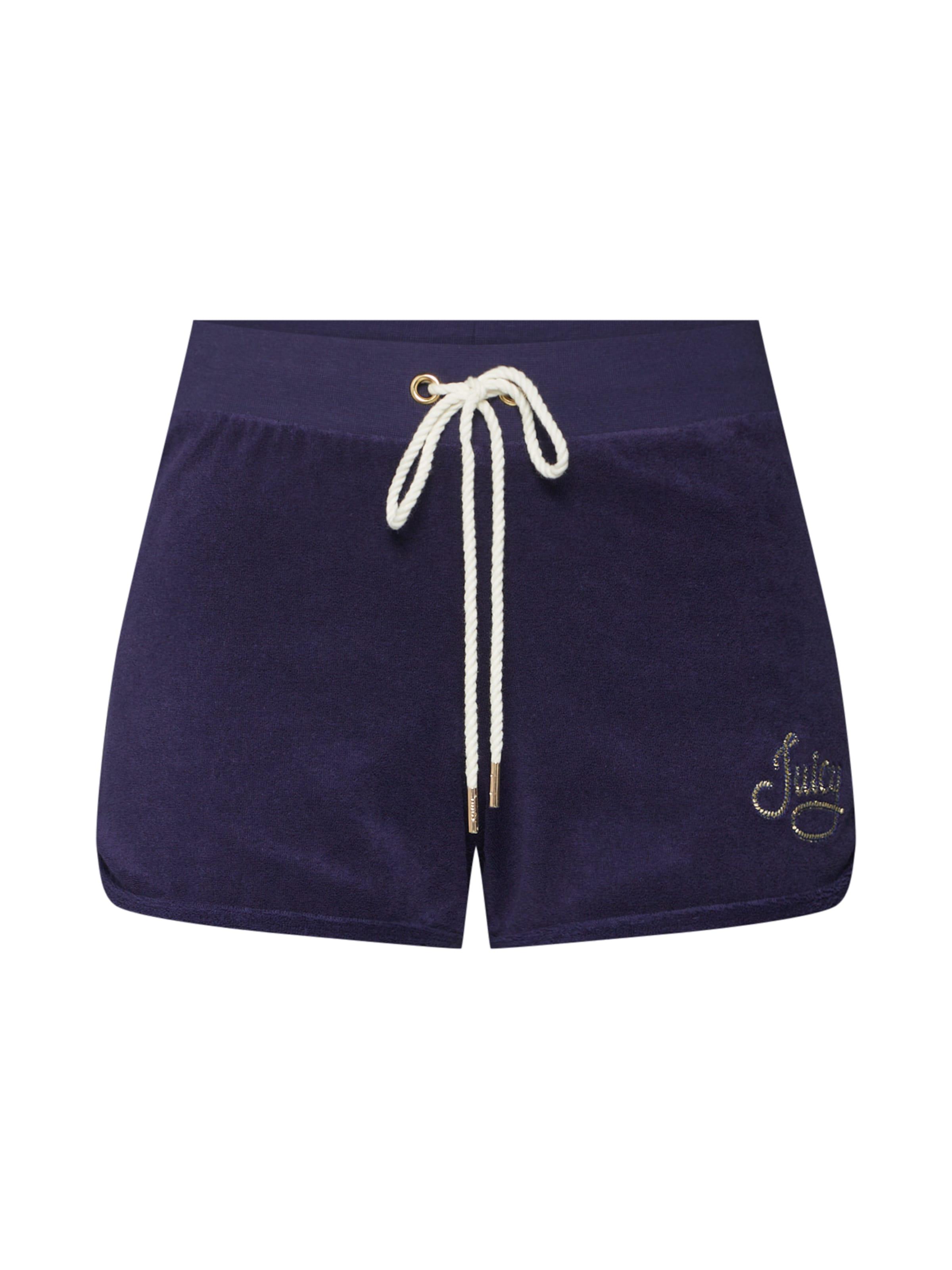 Pantalon Juicy 'rope Black Label Couture Short' Bleu Micro Terry En MUpzVS