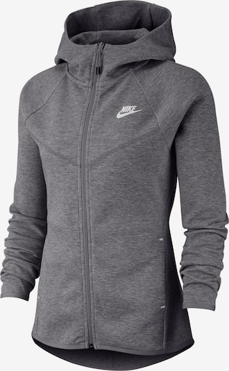 Nike Sportswear Sweatjacke 'Windrunner Tech Fleece W' in grau, Produktansicht
