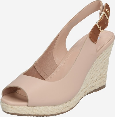 Dune LONDON Sandale 'KICKS 2' in beige / rosé, Produktansicht