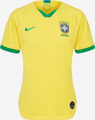 NIKE Sport-Shirt in gelb / grün, Produktansicht