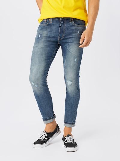 Jeans '519' LEVI'S pe denim albastru, Vizualizare model