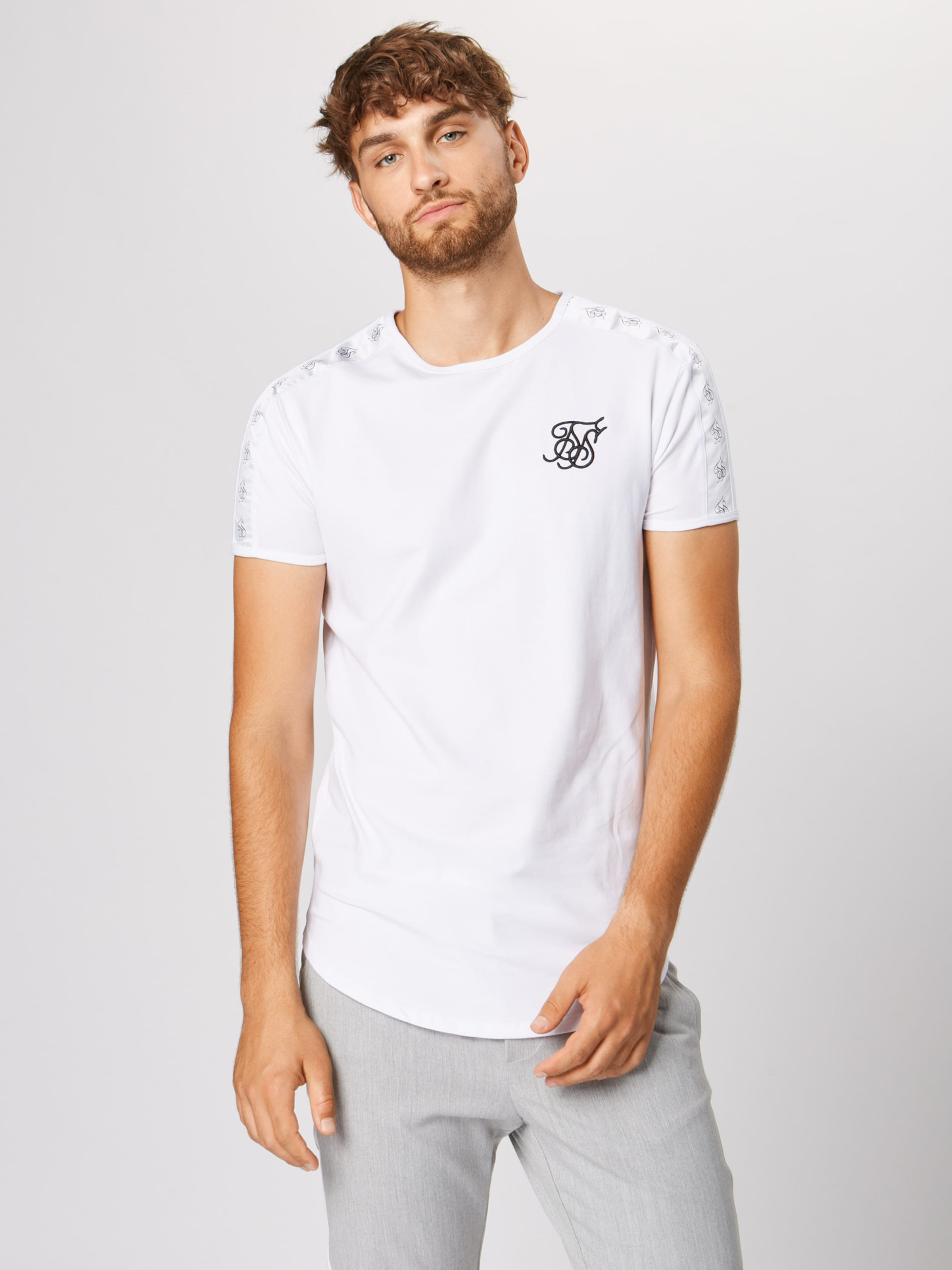 Weiß Weiß In Shirt Siksilk Siksilk Siksilk Shirt Siksilk Shirt In Shirt Weiß In In HWEIDY92