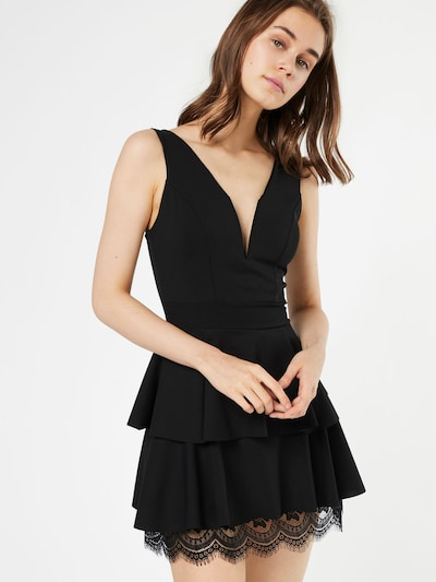 WAL G. Cocktail dress in black, View model