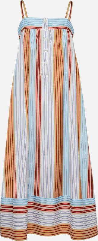 PAUL & JOE Kleid 'HILBlau' in in in blau   Orange  Bequem und günstig 82c22b