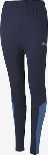 PUMA Trainingshose in nachtblau / hellblau / grau, Produktansicht