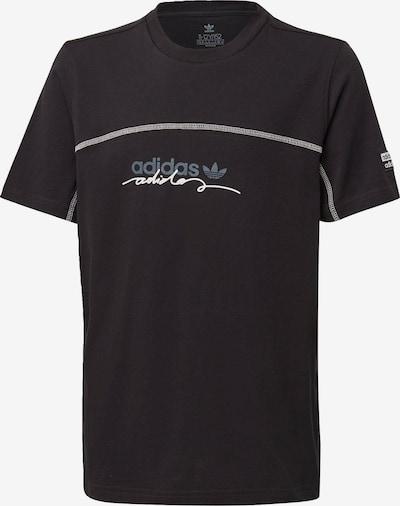 ADIDAS ORIGINALS T-Shirt 'R.Y.V.' in hellblau / schwarz / weiß, Produktansicht