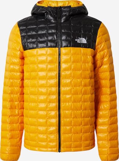 THE NORTH FACE Veste outdoor en jaune d'or / noir / blanc, Vue avec produit