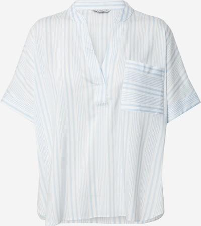 ONLY Bluse 'ONLAGNES' in hellblau / offwhite, Produktansicht