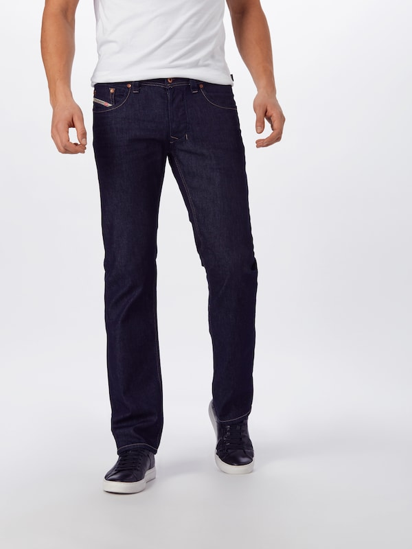 DIESEL Jeans 'Larkee' in blue denim: Frontalansicht