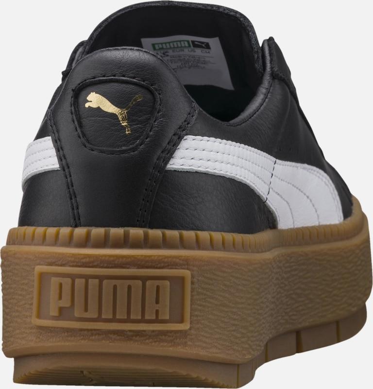 Laag Sneakers Puma In ZwartWit Trace' 'basket Platform BdeCrxoW