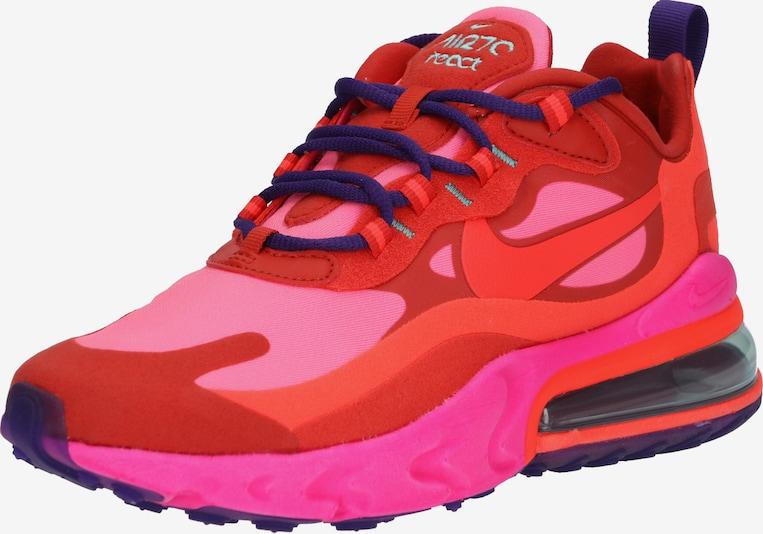 Nike Sportswear Trampki niskie AIR MAX 270 REACT w kolorze różowy / czerwonym siss2V7b