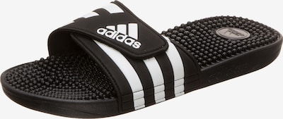 ADIDAS PERFORMANCE Slipper 'Adissage' in schwarz / weiß, Produktansicht