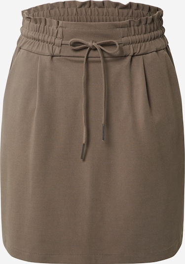 VERO MODA Rock 'VMEVA MR SHORT RUFFLE SKIRT NOOS' in braun, Produktansicht