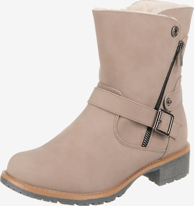UNLIMITED Winterstiefeletten in beige, Produktansicht