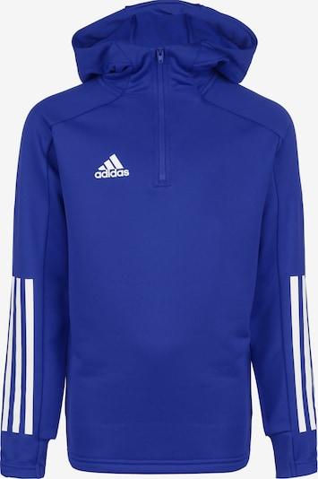 ADIDAS PERFORMANCE Sportsweatshirt 'Condivo 20' in royalblau / weiß, Produktansicht